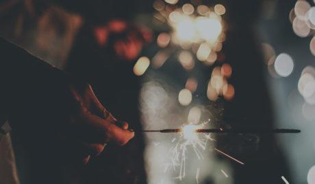 Light fireworks